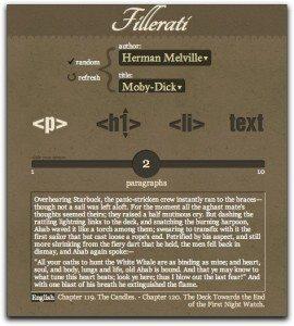 Fillerati website screenshot