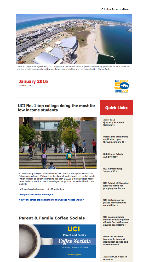 January 2016 Parents eNews