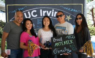 Proud Anteater Family
