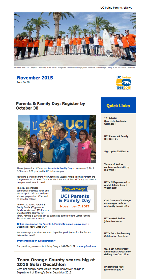 November 2015 Parents eNews