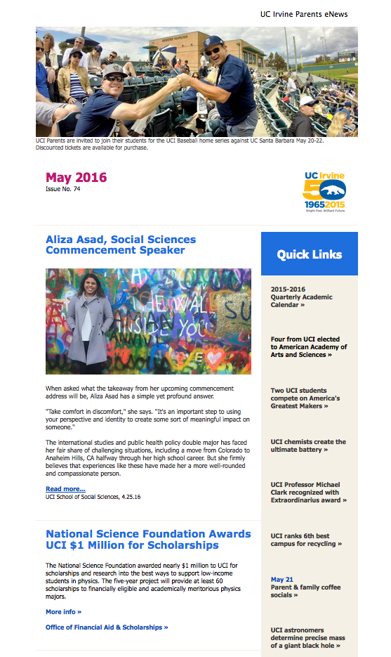 May 2016 Parents eNews