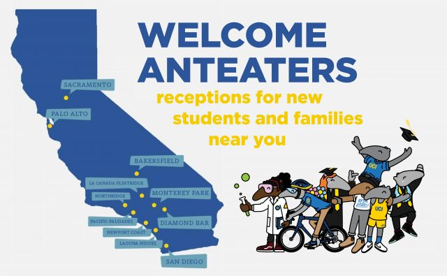 Welcome Anteaters Receptions Near You