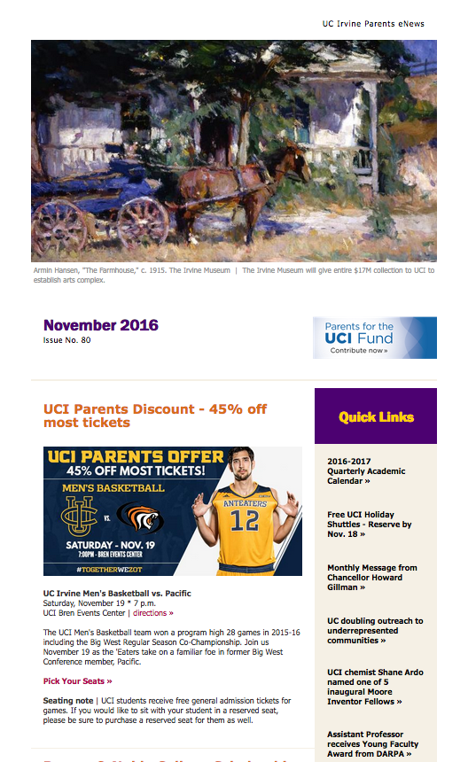 November 2016 Parents eNews