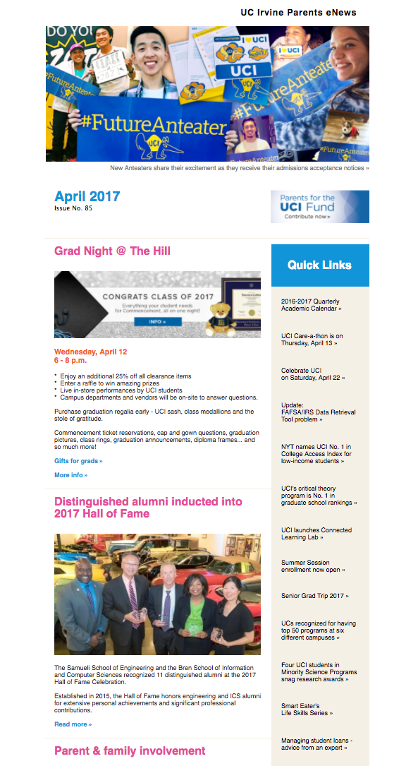 April 2017 Parents eNews
