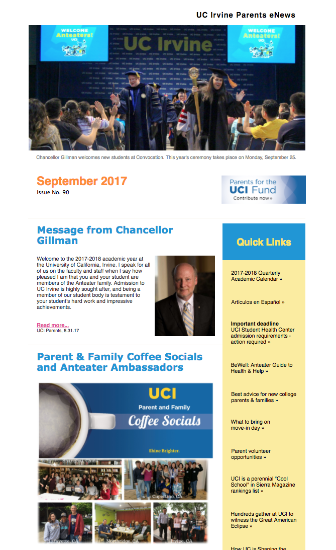 September 2017 Parents eNews