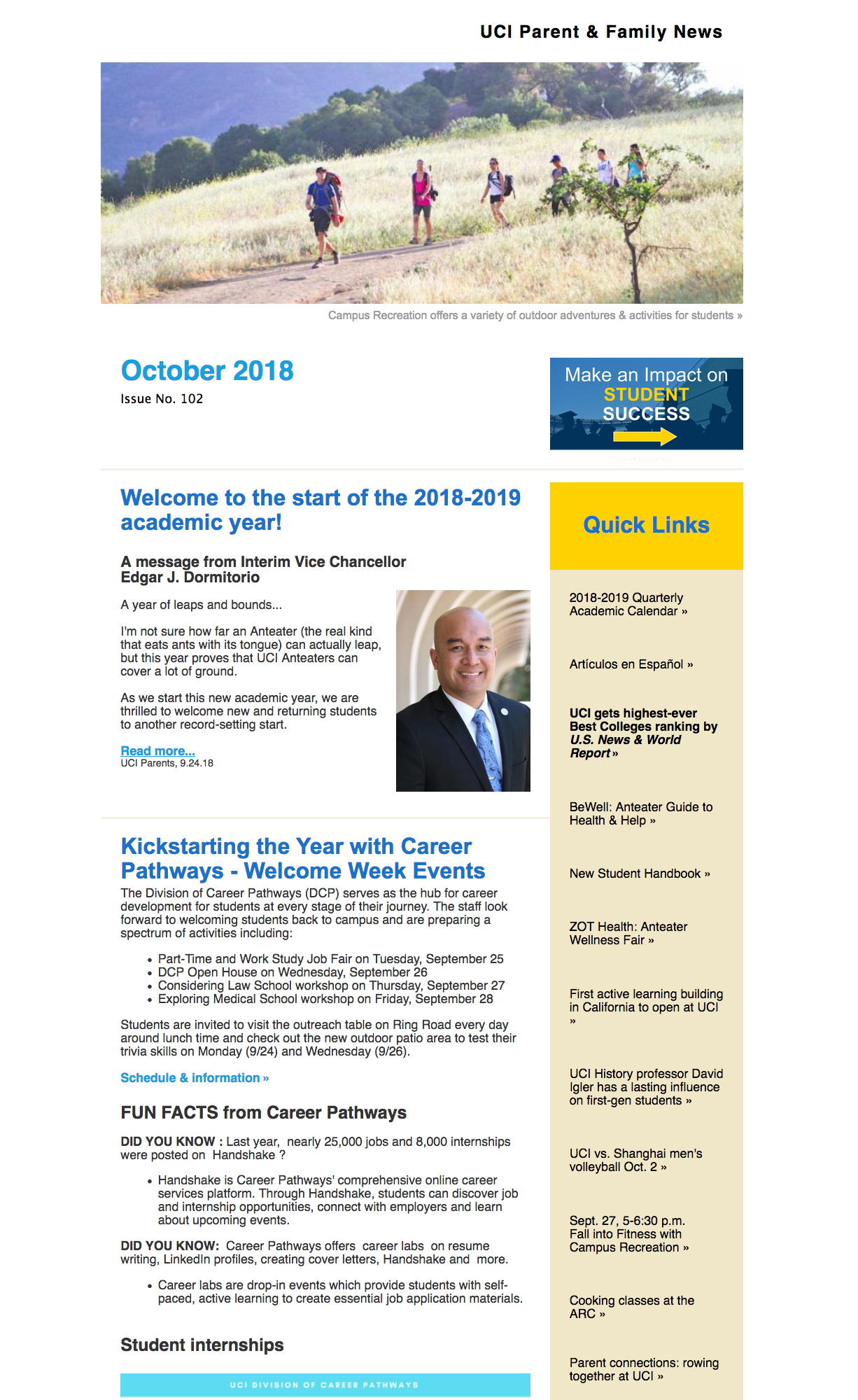 October 2018 eNews