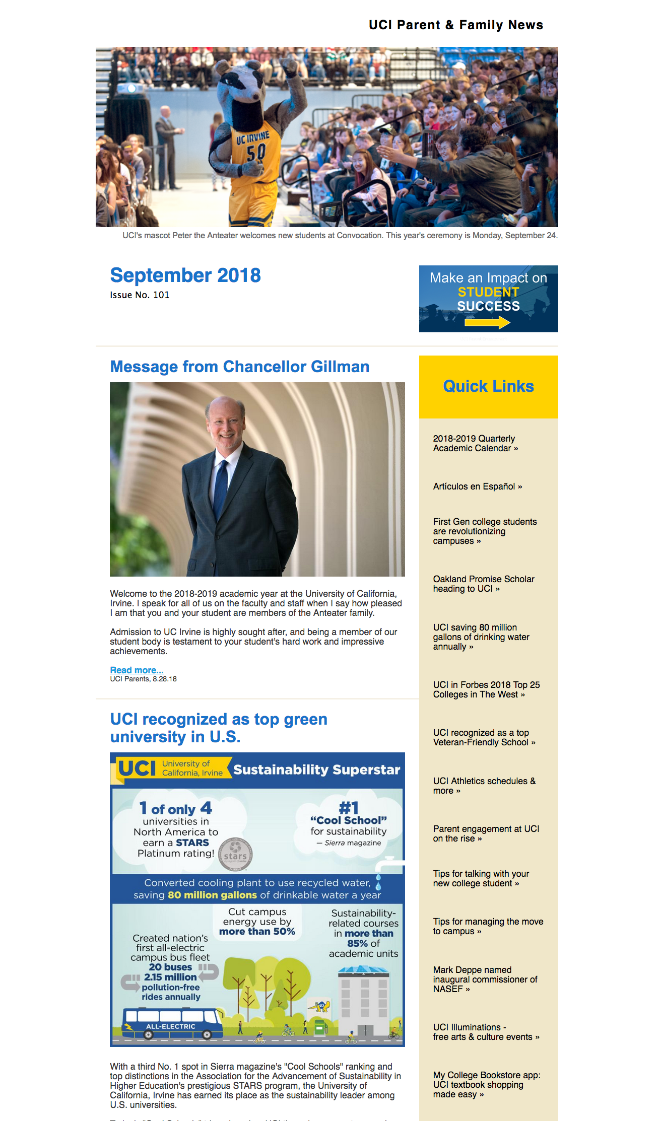 September 2018 eNews