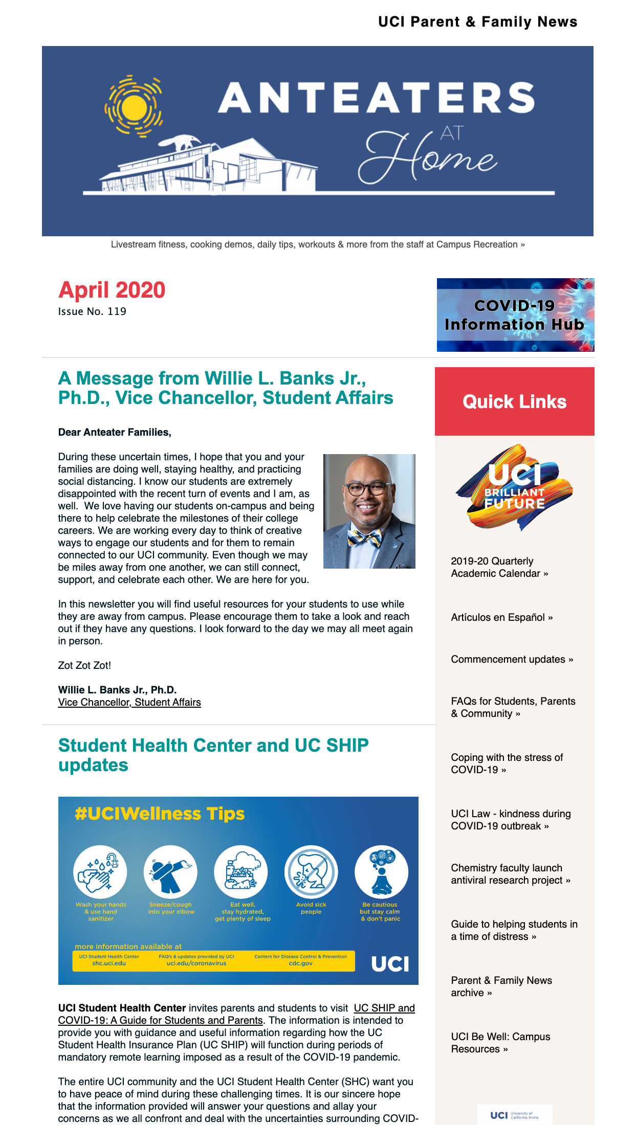 April 2020 eNews