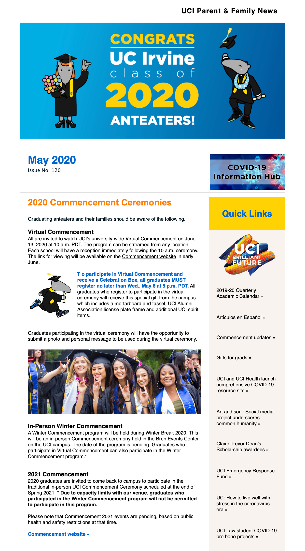 May 2020 eNews
