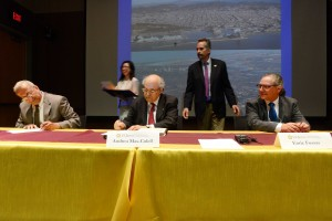 The signing of MOUs at UCI