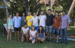 New Balsells Fellows at UCI, Fall 2015