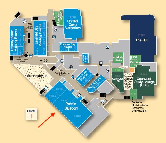 Pacific Ballroom UCI Student Center
