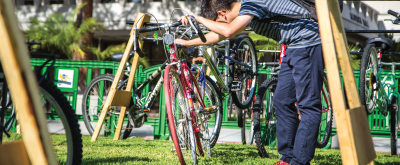 Recycle Bike Fair on January 25