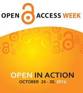 UCI Libraries celebrate Open Access Week