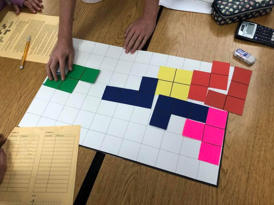 8th Grade - Tetris for Transformations