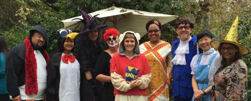 Staff Halloween Costume Contest 2014