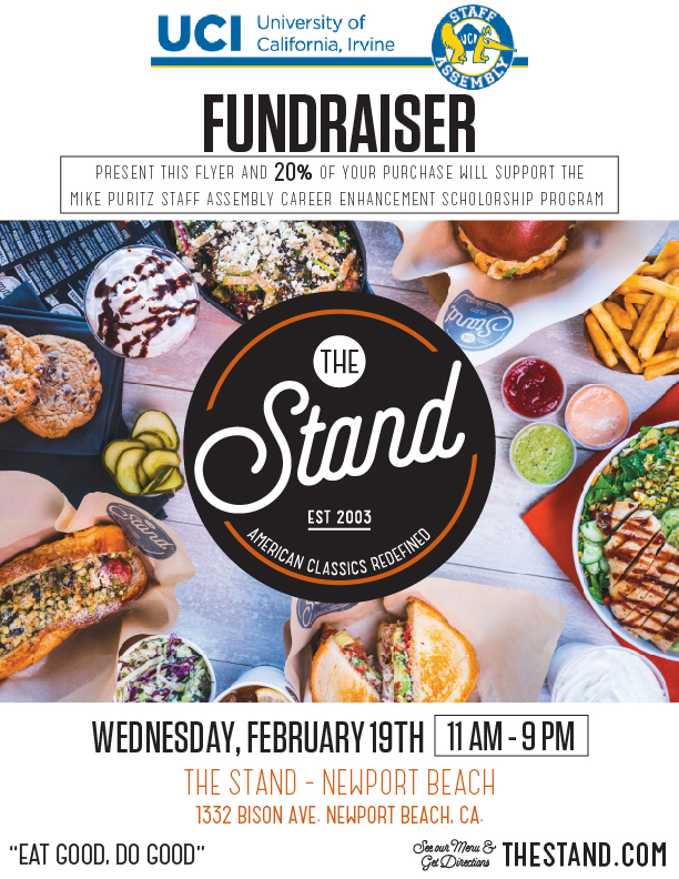 the stand fundraiser