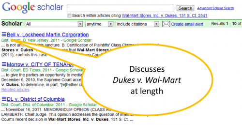 Cases citing Wal-Mart v. Dukes, 2011