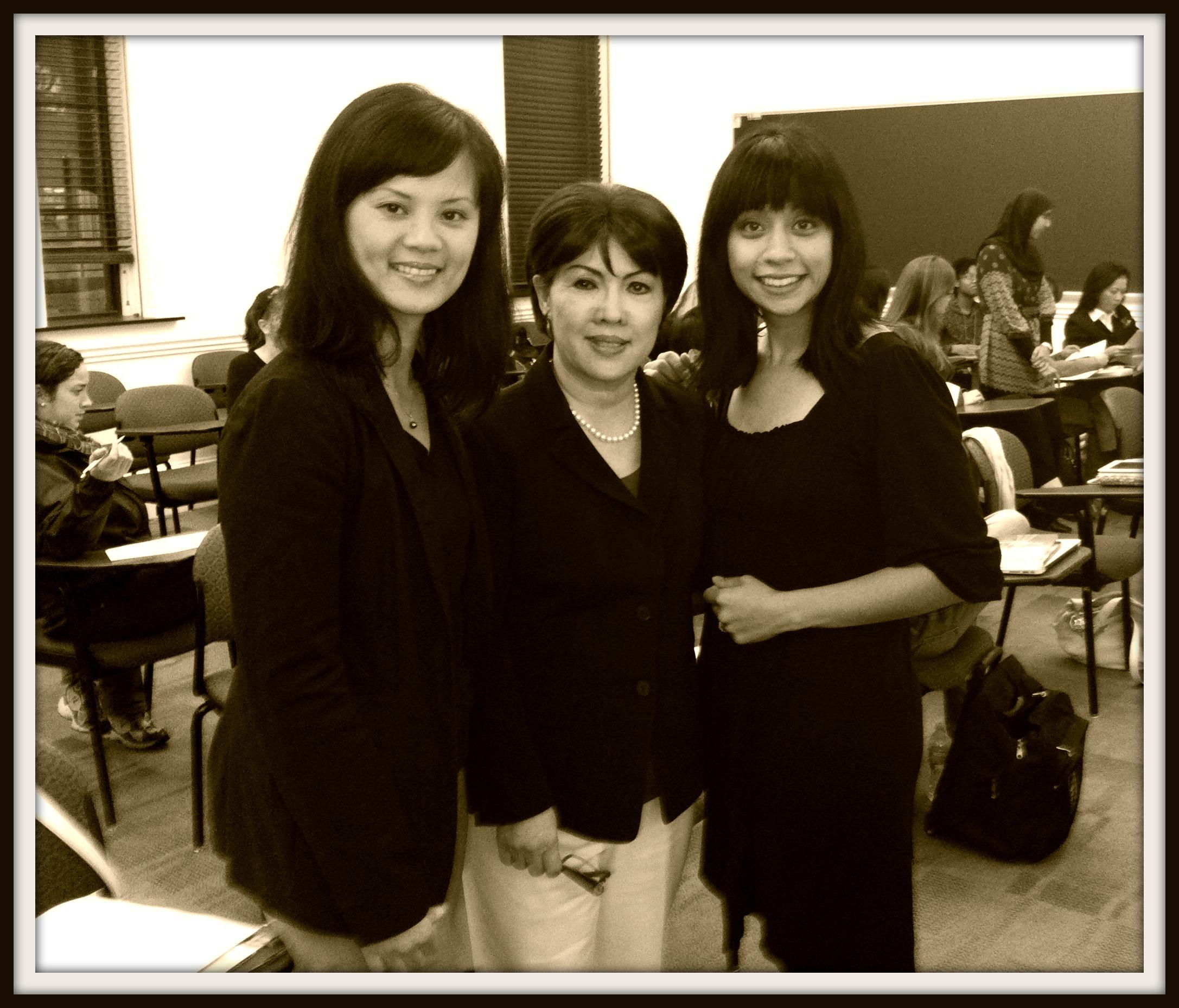 Thuy Vo Dang (VAOHP), Nancy Bui (VAHF), and Linda Ho Peche (VAHF)