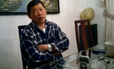 Narrator, Stephanie Wong's father