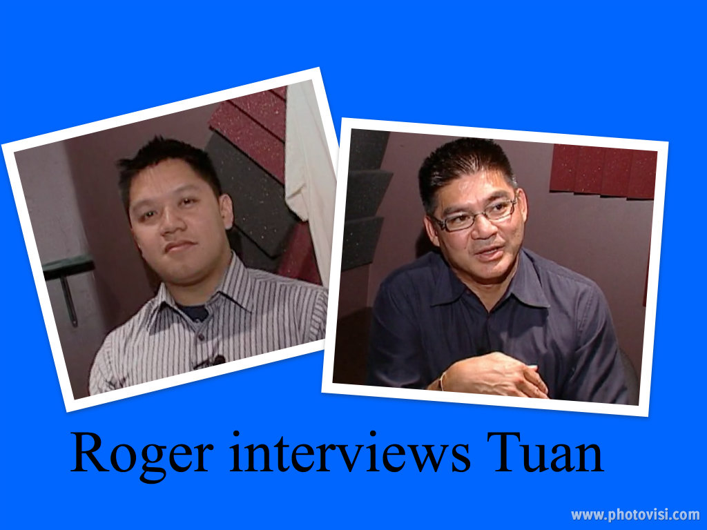 Roger Le interviews narrator, Pham Quang Tuan