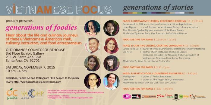 Viet OC Food Event flyer
