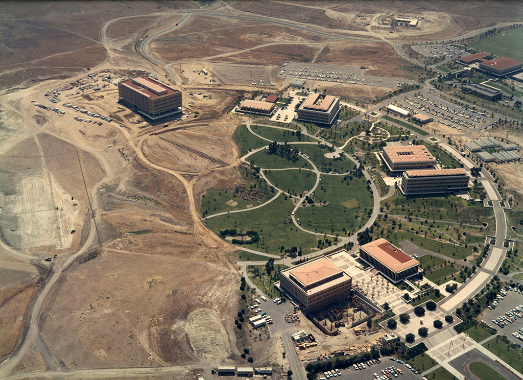 UCI seen from the air in 1966