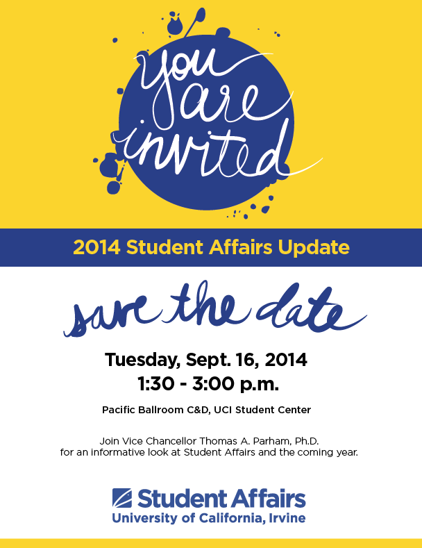 2014 Student Affairs Update