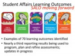 SA Learning Outcomes update
