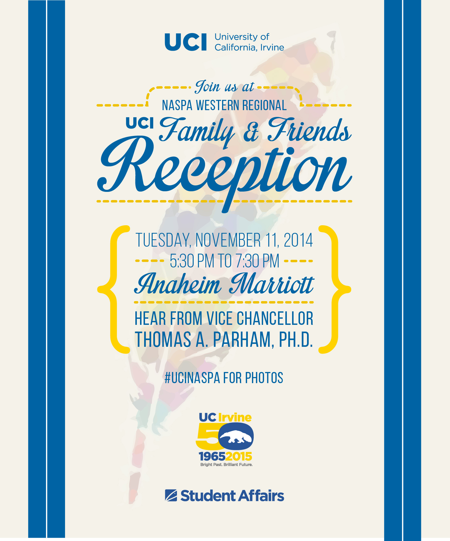 UCI Family & Friends Reception at NASPA Western Regional