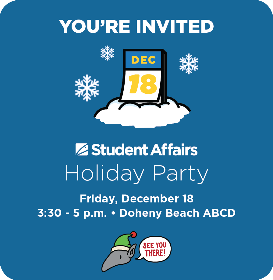 Student Affairs 2015 holiday party