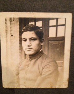 Ataullah Khwaja, my maternal grandfather, in his youth