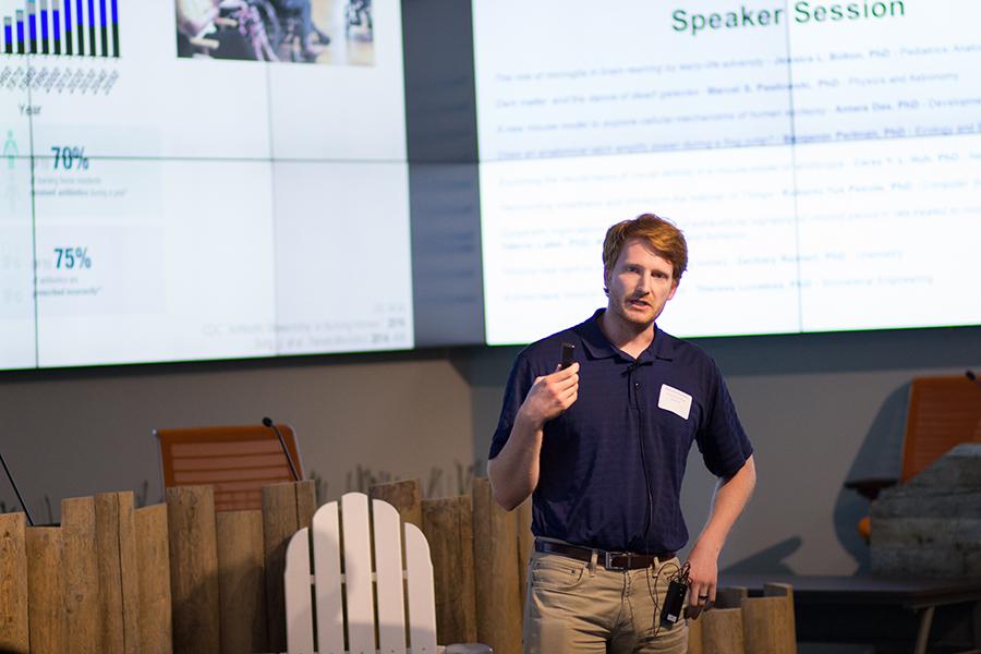 Speaker: Zachary Reinert