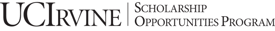 Scholarship Opportunities Program – UC Irvine
