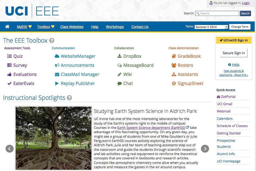 EEE Homepage