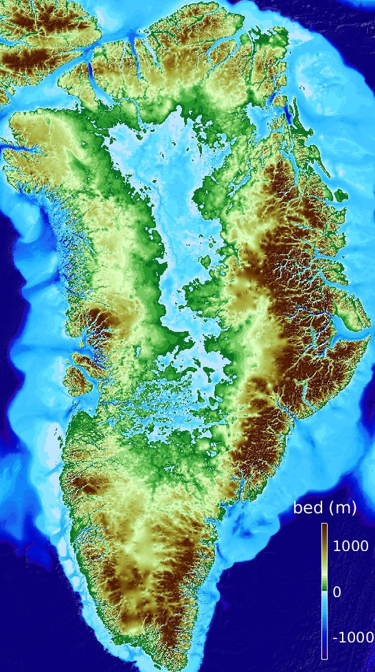 BedMachine Greenland v3 | Ice Sheet Modeling Group