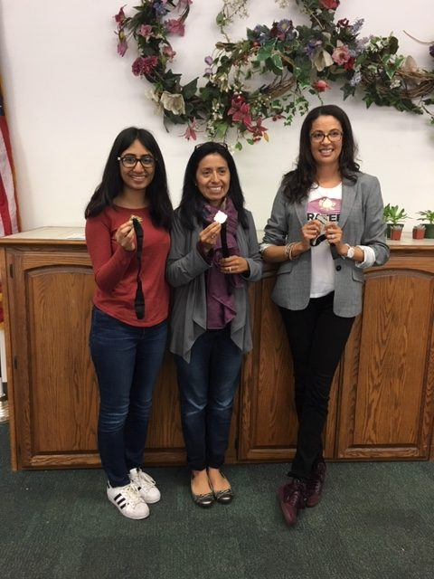 Areas E-1 and E-2 Table topics contest winners