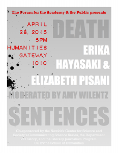 Death Sentences Flyer