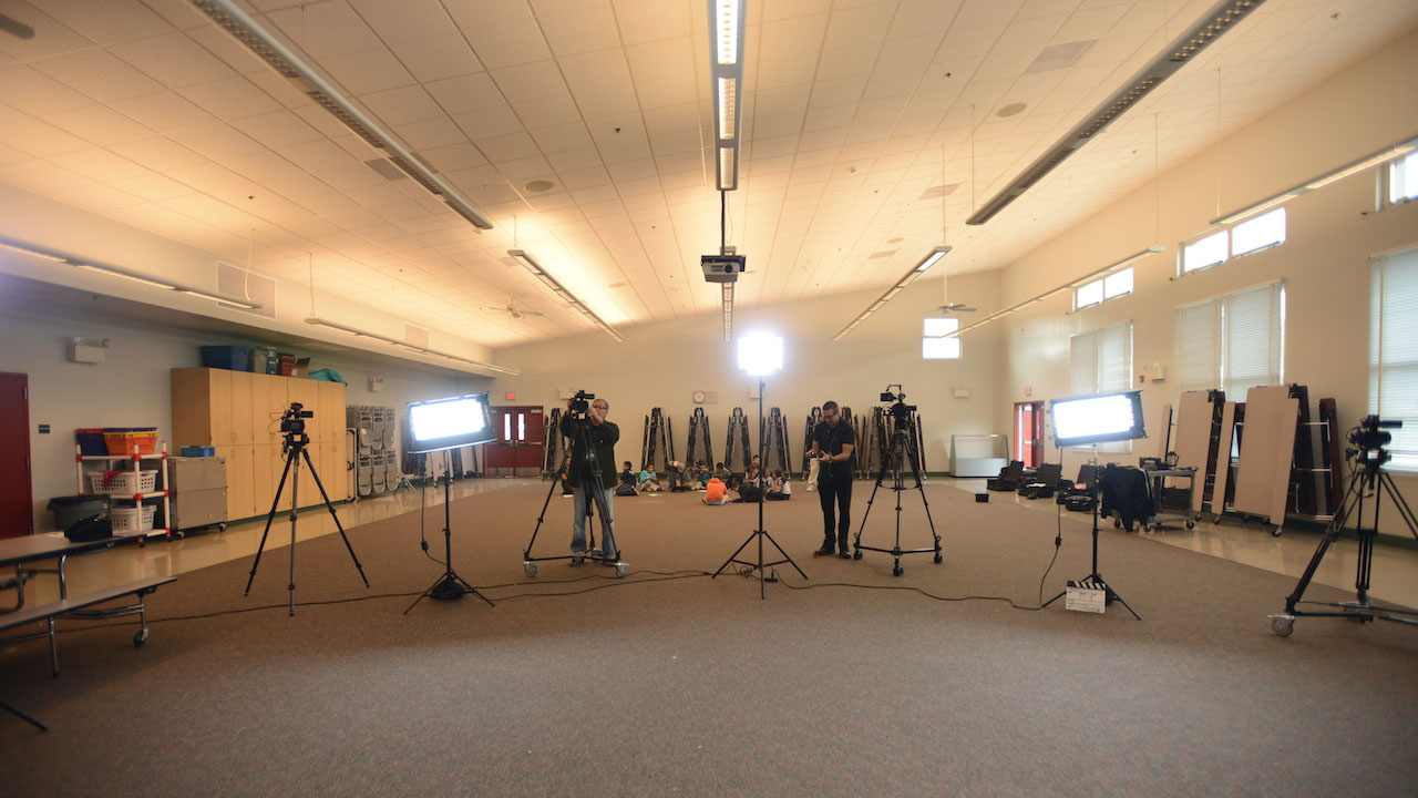 High Resolution Filming of Classes
