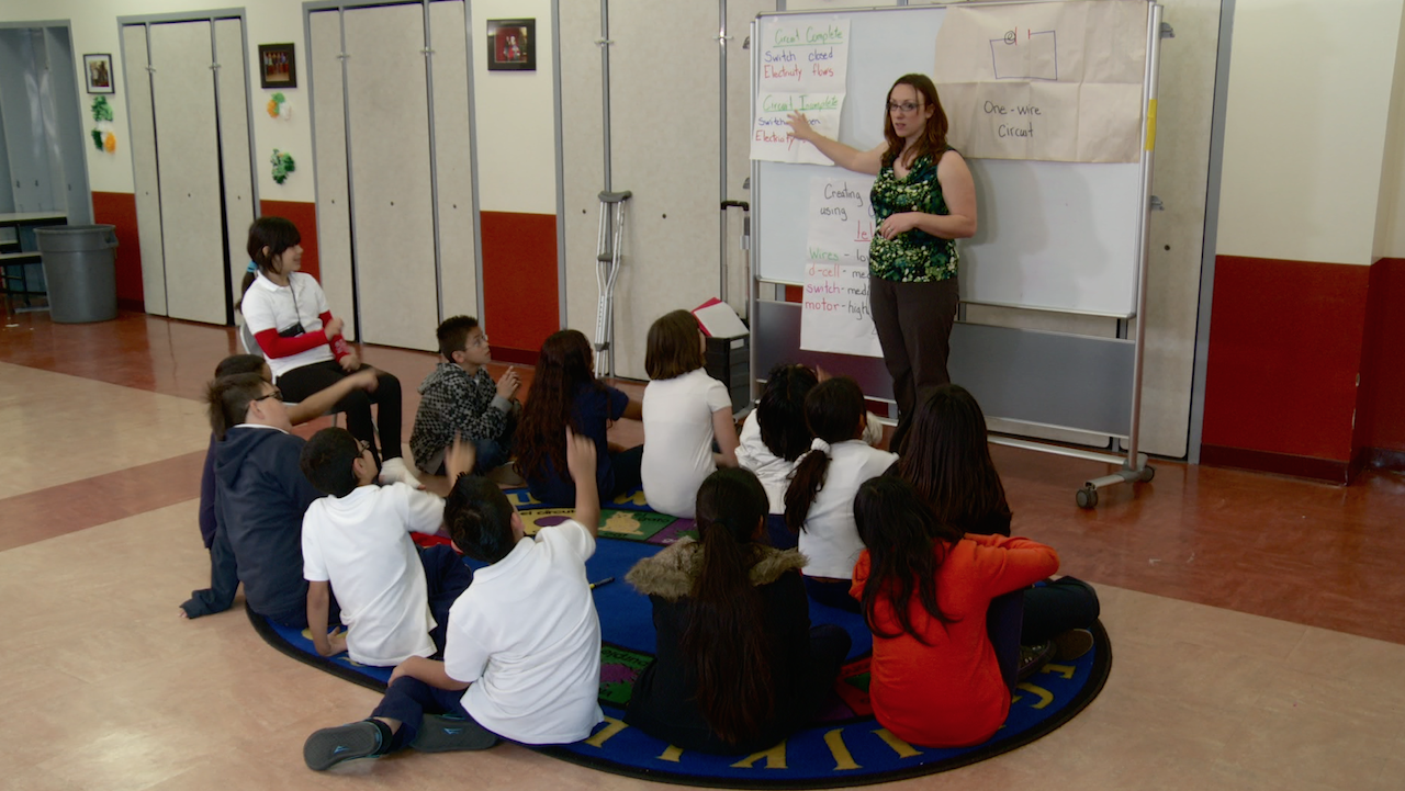 """Learn more the Research behind the """"Teaching Artist Project"""""""