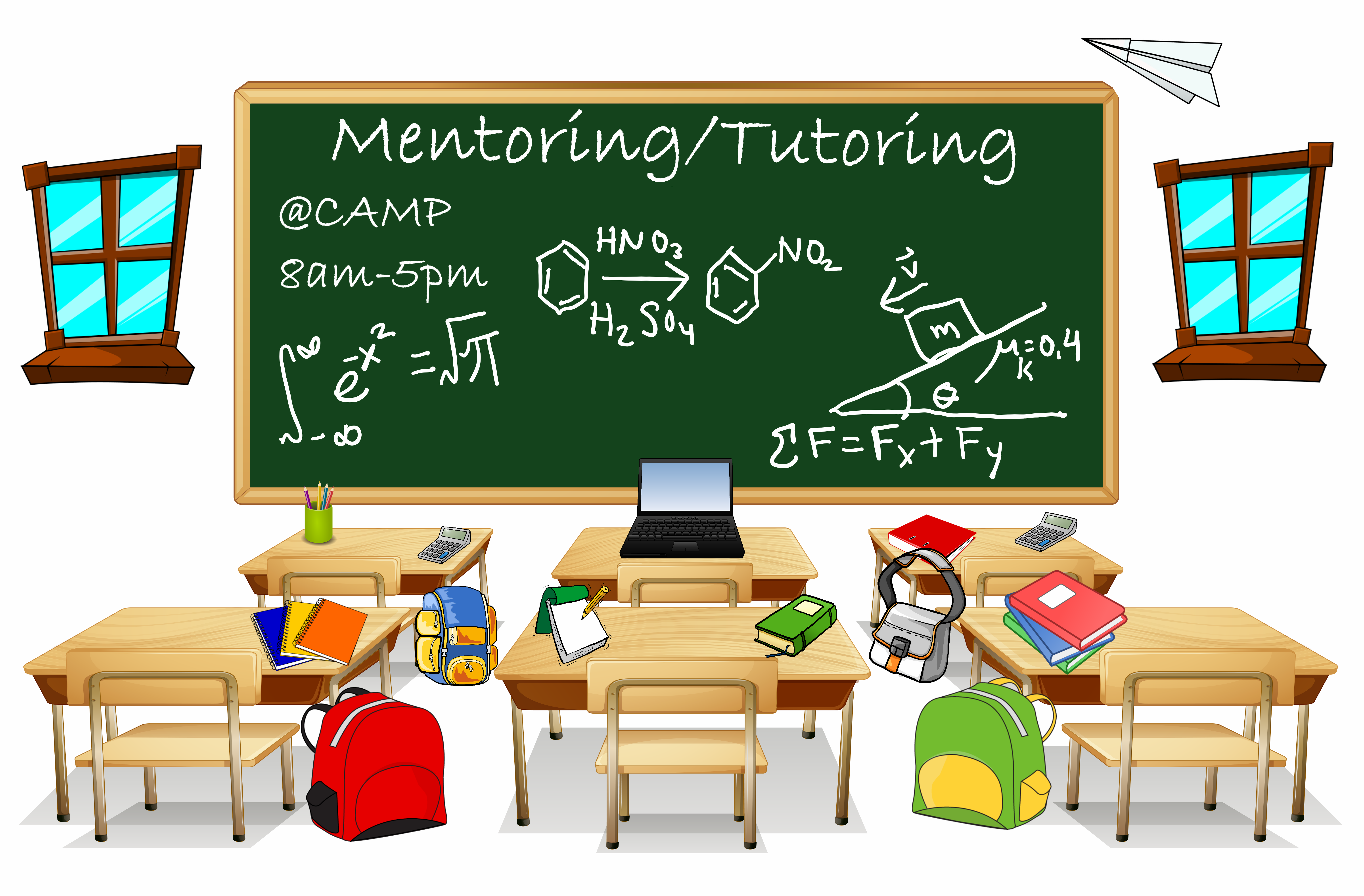 We offer mentoring/tutoring to our CAMP students