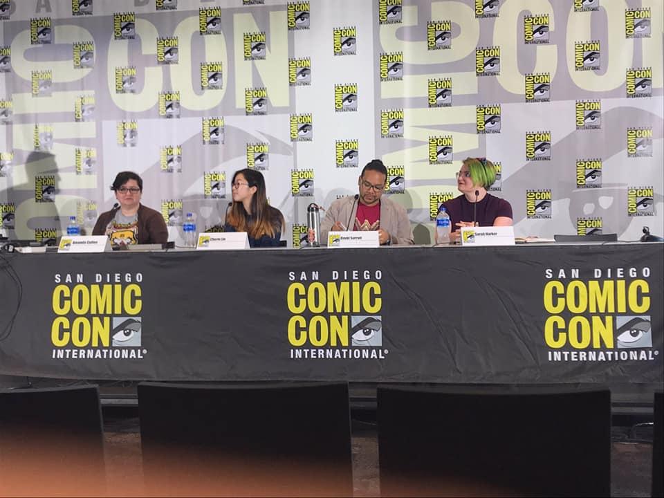 Panelists at San Diego Comic Con
