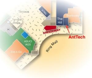 AntTech Map