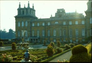 Blenheim garden