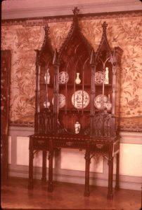 Gothic china cabinet