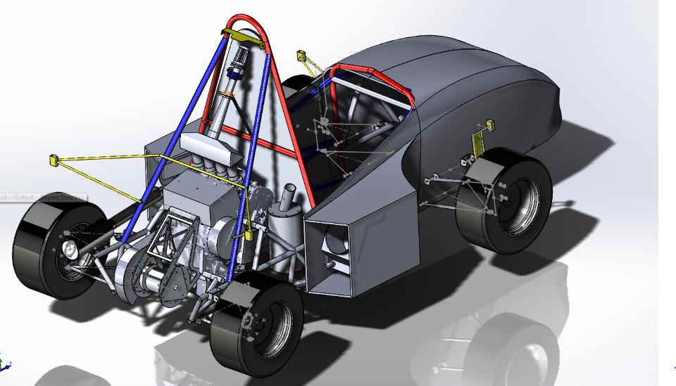 Formula SAE Race Car Suspension Project – Zonghao Benjamin