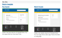 New Blog and Site Templates