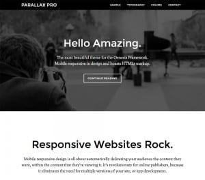 Parallax Example
