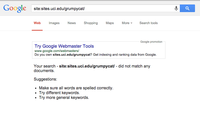 How to search on a site