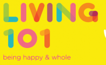 Being Happy and Whole Banner